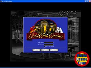ゴールドクラブカジノ アカウント開設
